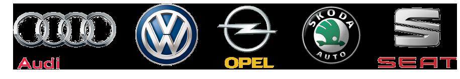 Audi VW Opel Skoda Seat